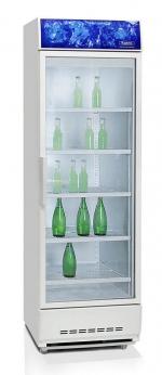 Бирюса - 520 SPN Среднетемпературный шкаф-витрина с динамической системой охлаждения